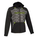 BERING DRIFT JACKET BLACK GREY