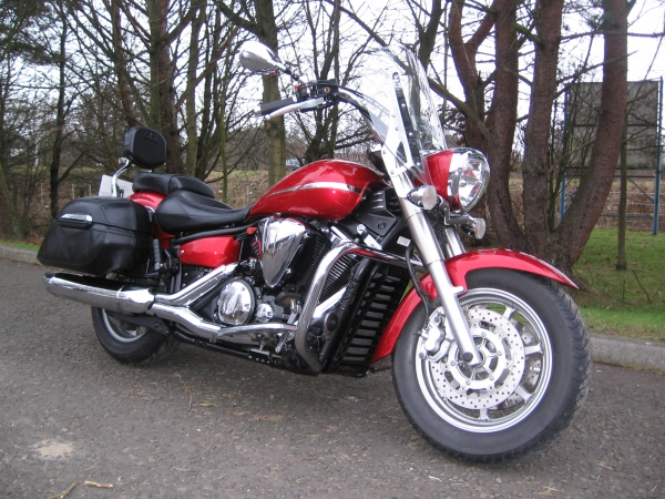 2008 58 YAMAHA XVS1300A MIDNIGHT STAR